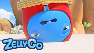 ZELLYGO season 3 Episode   Little Bag-man   Skipping Stones   -  kids/cartoon/funny/cute