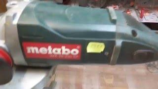 Болгарка METABO W 20-230 SP. Купить инструмент.(Цена: 2000 грн. В идеальном рабочем состоянии. антивибрационная ручка! Технические характеристики : Производ..., 2016-02-01T23:26:10.000Z)