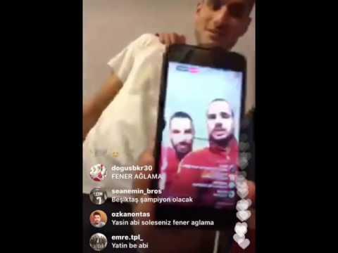 Sneijder,Yasin,Sinan,Eren,Podolski,Mert Instagram Video FULL VERSİYONU