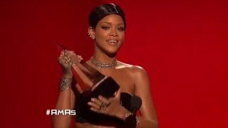 Rihanna Wins Soul/RnB Female - AMA 2013