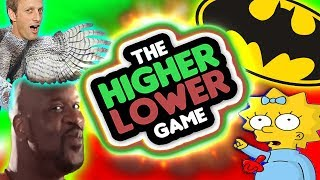 QUIEN ES MAS POPULAR ? - Higher or Lower - GO8