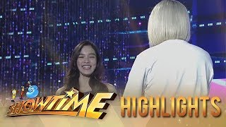 "It's Showtime Miss Q & A: ""Ate Girl"" in front of the camera"