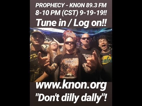 "9-19-19 PROPHECY jams ""Foreseen Scriptures"" on KNON 89 3 FM!"