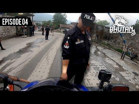 BHUTAN POLICE stopped my HAYABUSA