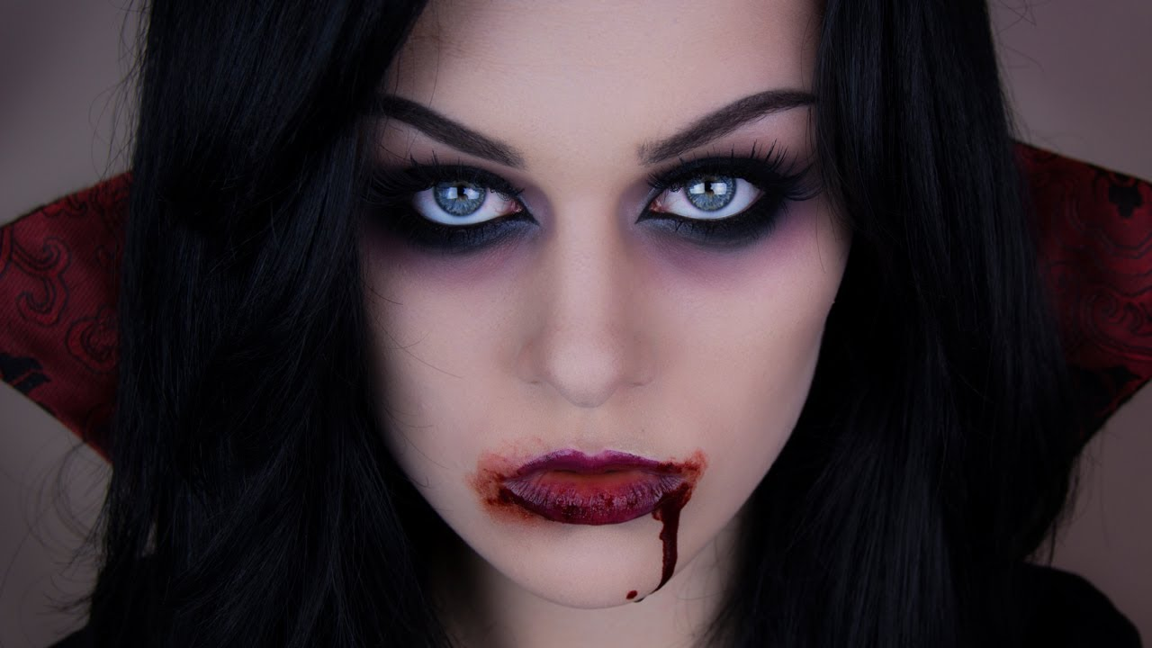 Halloween Make Up Anleitung Sexy Vampire Halloween Makeup