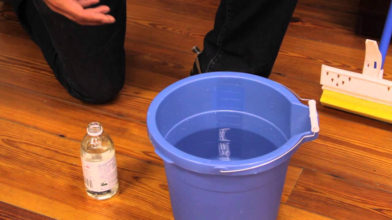 - How To Clean Buildup On Wood Floors : Wood Flooring - YouTube