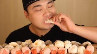 쫀득쫀득 찹쌀도너츠 먹방~!! 리얼사운드 social eating Mukbang(Eating Show)