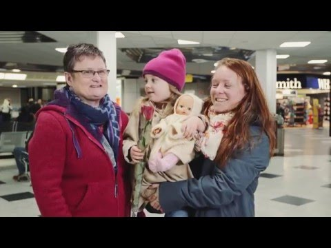 Love Actually at Belfast International Airport