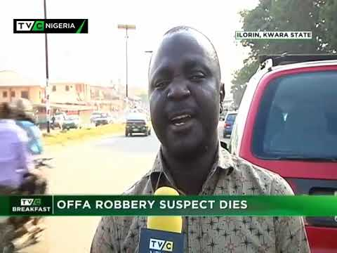 TVC Breakfast 22nd Nov. 2018|OFFA Robbery Suspect Dies