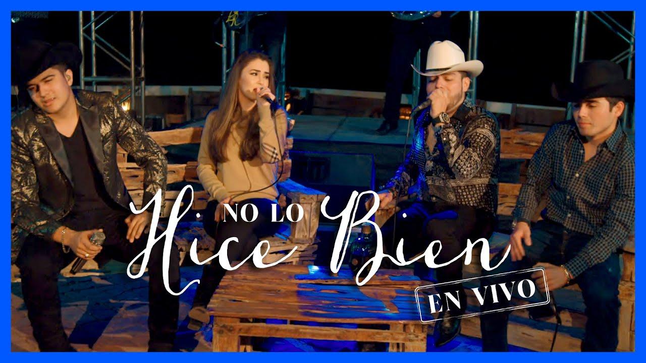 No Lo Hice Bien – (En Vivo) – Cheli Madrid, Lenin Ramirez, Ulices Chaidez y Jose Manuel