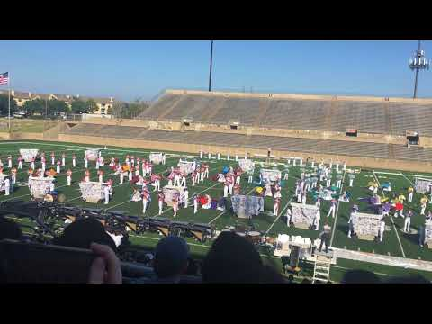 Flower Mound HS 2017 Marching Show- Fractured Moments