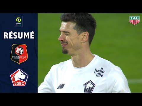 STADE RENNAIS FC - LOSC LILLE (0 - 1) - Résumé - (SRFC - LOSC) / 2020-2021