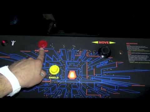 My Atari Major Havoc Review - Tempest Conversion Dedicated - Vector Game 1983