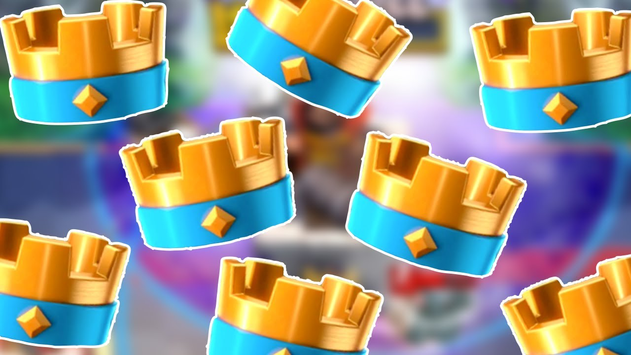 Clash Royale Raining Crowns Three Crown Deck Youtube
