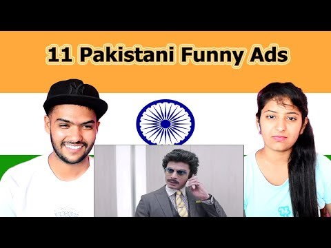 Indian reaction on 11 Pakistani Funny Ads | Swaggy d