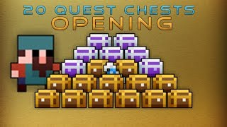 [RotMG] 20 Quest Chests Opening