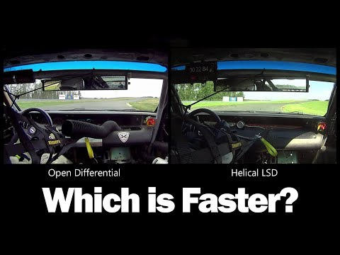 In-Car Comparison - Open Differential vs WaveTrac Limited Slip Differential