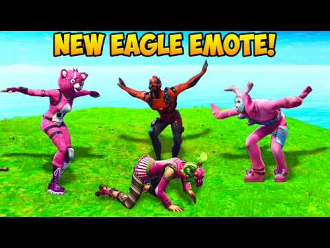 *NEW* EAGLE EMOTE BEST PLAYS! - Fortnite Funny Fails and WTF Moments! #242 (Daily Moments)