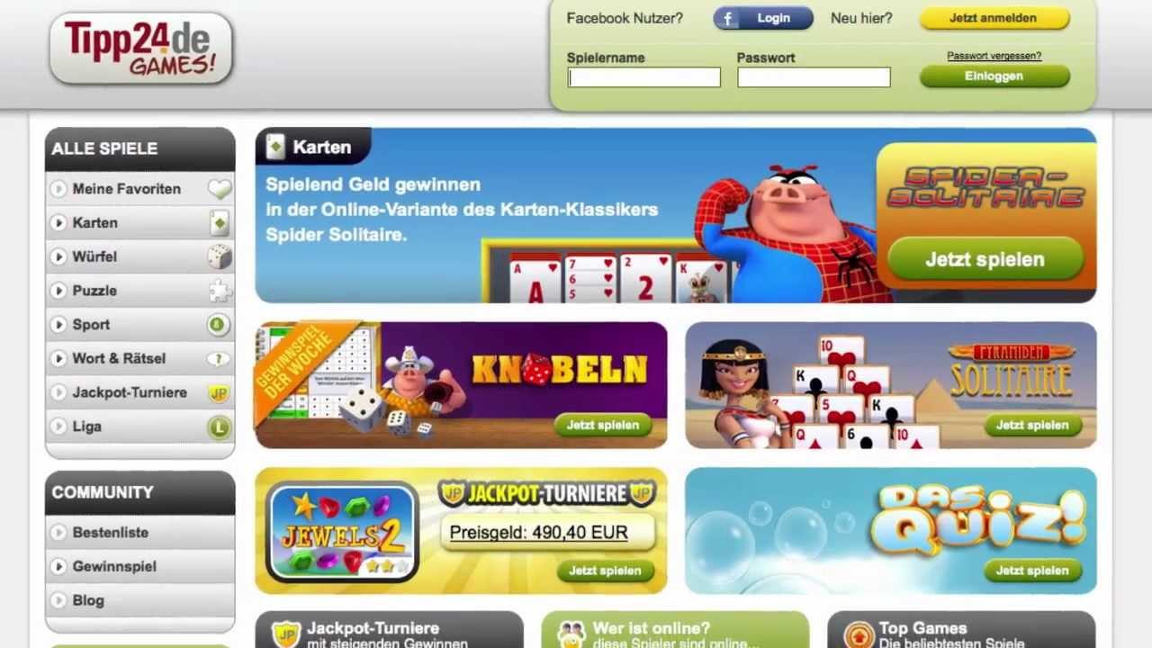 Tipp24 Online Games