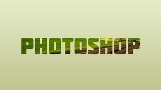 Colocando Imagem dentro do Texto - Adobe Photoshop CS6