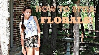 How to Style Florals || Collab Thumbnail