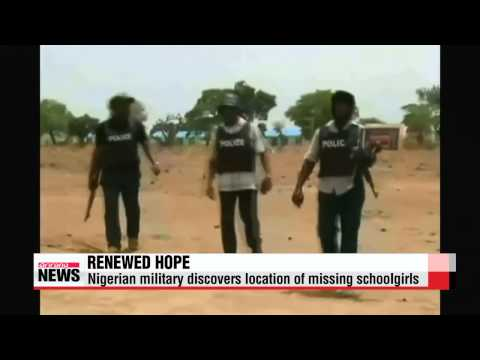 Nigeria military discovers location of missing girls