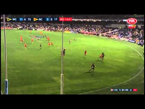 Afl 2015 Round 7: West Coast V Gold Coast Replay
