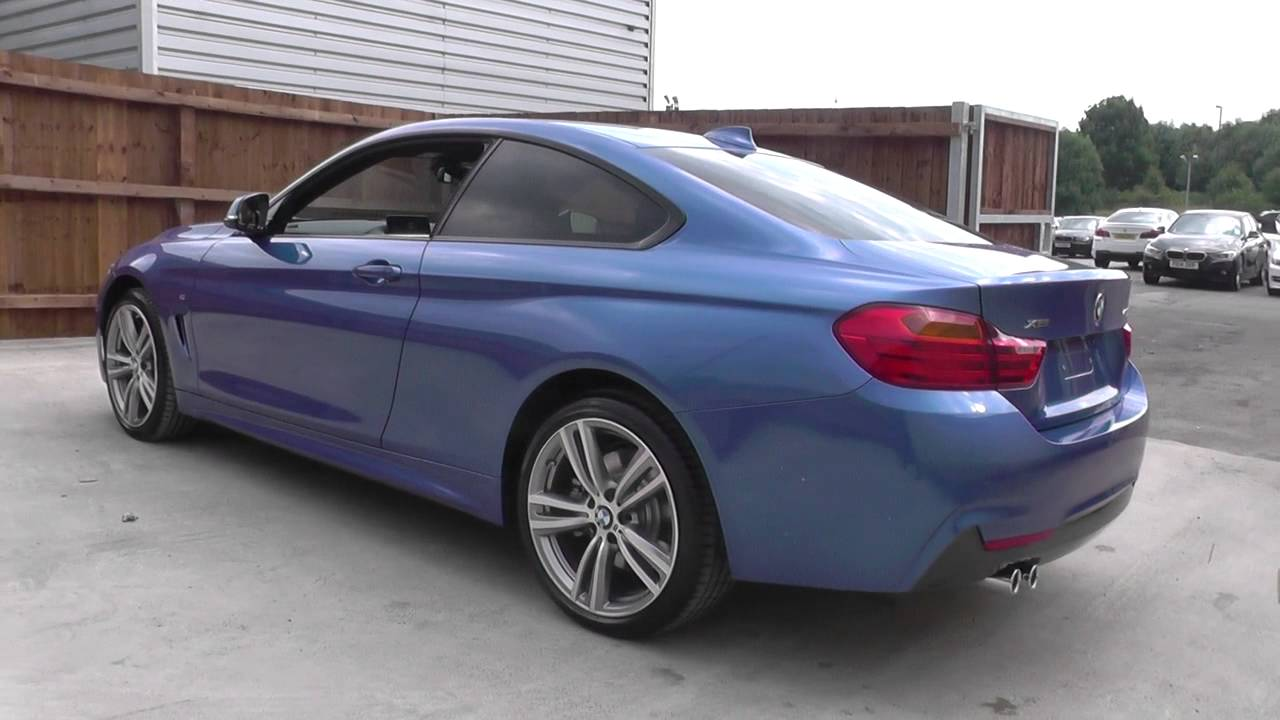bmw 4 series 430d xdrive m sport 2dr auto u19932 youtube. Black Bedroom Furniture Sets. Home Design Ideas