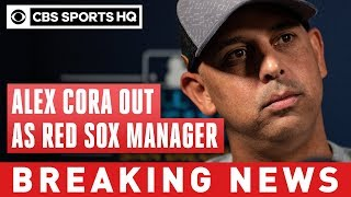 Alex Cora out as Red Sox manager after being implicated in Astros' sign-stealing | CBS Sports HQ