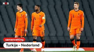Oranje start WK-kwalificatie op pijnlijke wijze   samenvatting Turkije - Nederland   WK-kwalificatie