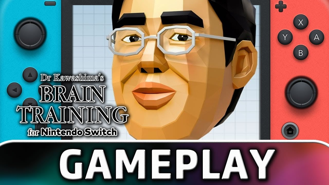 Dr Kawashima's Brain Training for Nintendo Switch | Quick Play Gameplay
