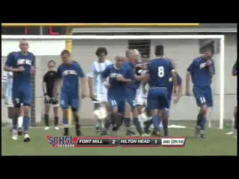 Jon Cutrone Scores on a 20 yd Shot in the SCHSL Boys Class AAA Soccer Championship