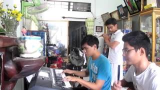 C.D.H Một nhà cover (piano+flute+guitar)