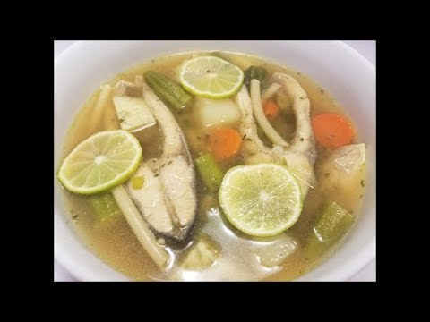 Trinidad Fish Broff \ Broth - Episode 45