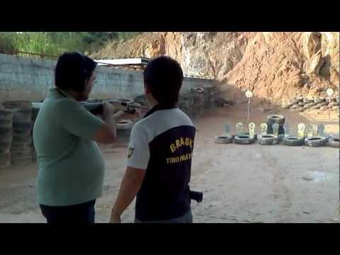 Atirando com calibre 12 e Magnum 44 - CTA
