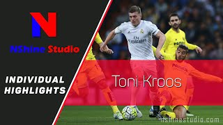 TONI KROOS skills, assists, tackles and goals - Real Madrid 2016 | NShine Studio Product