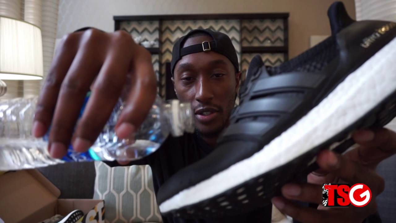 d6fb03cb612 adidas Ultra Boost ATR Unboxing + Water Repellant Test - YouTube