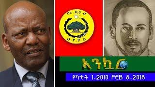 EthioTube Ankuar : አንኳር - ከአዲስ ሹምሽር እስከ ዶ/ር ነጋሶ የምስራች - Ethiopian Daily News : እለታዊ ዜና | Feb 8, 2018