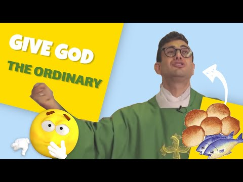 GIVE GOD THE ORDINARY - In Just A Minute - Episode #29