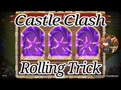 Castle Clash Gem Rolling Trick