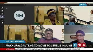 Makhura: Gauteng will move to level 3 in June