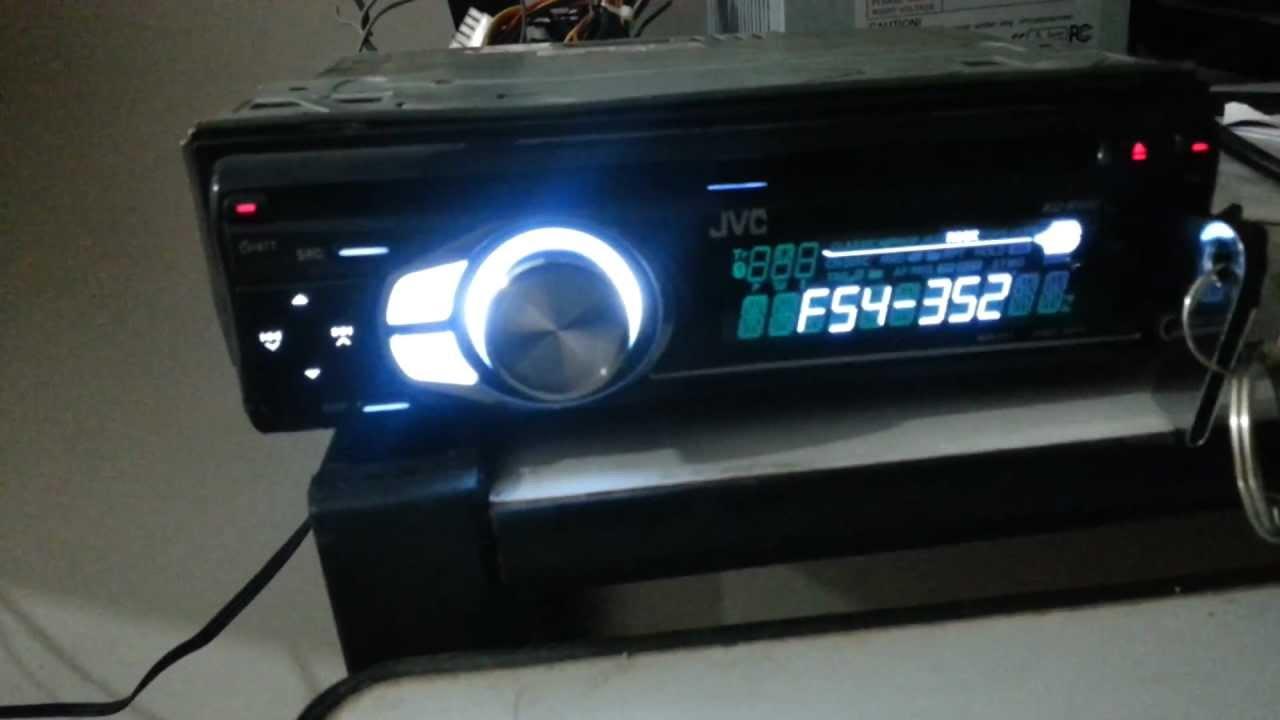 CD PLAYER JVC KD R 400