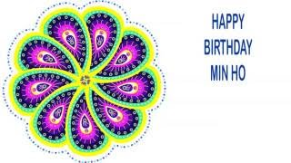 MinHo   Indian Designs - Happy Birthday