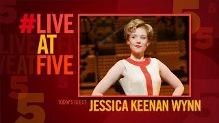 Broadway.com #LiveatFive with BEAUTIFUL's Jessica Keenan Wynn