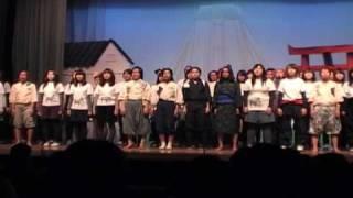 名寄市立短期大学 児童学科  卒業公演  合唱