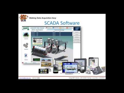 Using HART Devices with SCADA Software