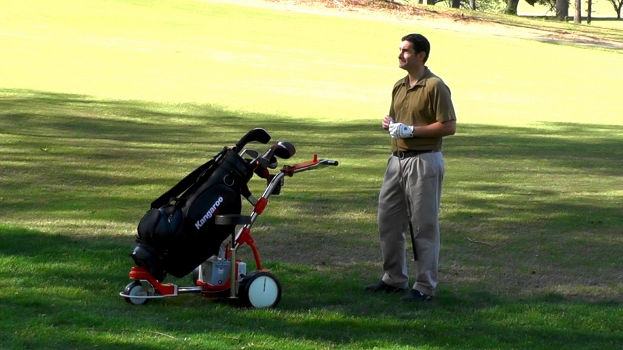 His golf game stronger thanks to his Kangaroo cad - YouTube Kangaroo Golf Carts Review on whale golf carts, hippo golf carts, spot golf carts, duck golf carts, power walking golf carts, rat golf carts, swan golf carts, frog golf carts, tiger golf carts, alligator golf carts, hawk golf carts, shark golf carts, remote control walking golf carts, fox golf carts, flamingo golf carts, hawkeye golf carts, rhino golf carts, monkey golf carts, used riding golf carts, deer golf carts,