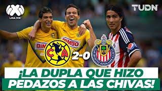 ¡Partidazo de Jiménez! El Ame se adueñó del clásico nacional | América vs Chivas - AP2013 | TUDN
