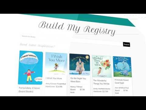 Baby Shower? Get a BooksNotCards Book Registry.