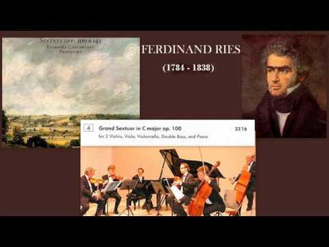 Ferdinand Ries: Grand Sextuor in C major, Op. 100,  Ensemble Concertant Frankfurt